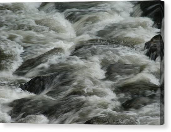 Colorado Rapids Canvas Print - Black Water by Brian Kerls