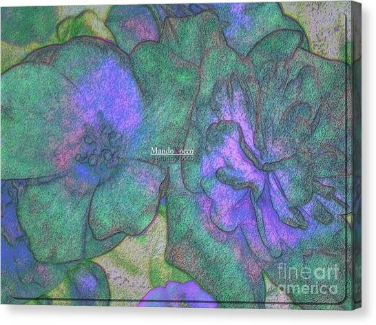 Blooms Canvas Print by Mando Xocco