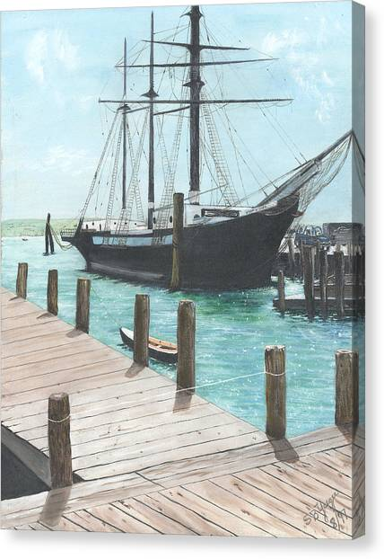 Boat With A History Canvas Print