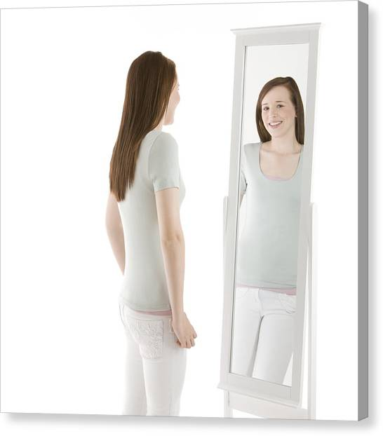 Body Image Canvas Print by