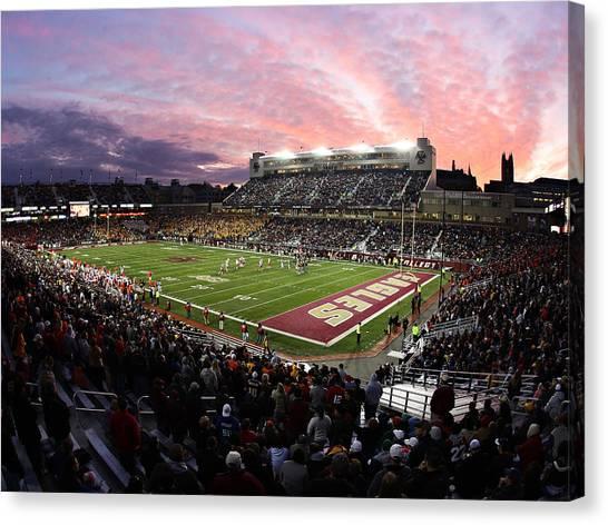 Acc Canvas Print - Boston College Alumni Stadium by John Quackenbos