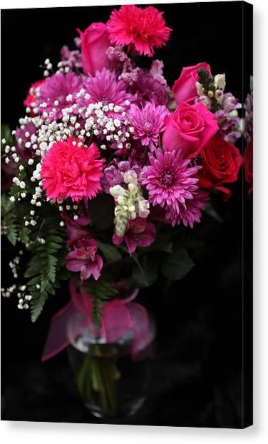 Bouquet Of Love 2 Canvas Print