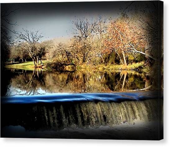 Brushy Creek II Canvas Print by James Granberry