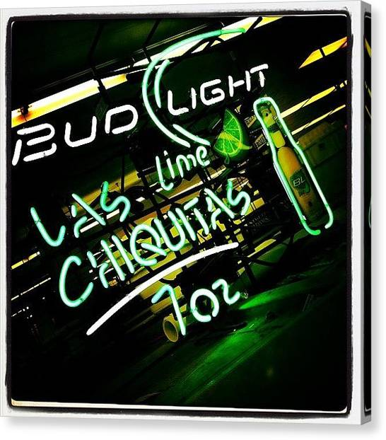 Beer Canvas Print - Bud Light by Torgeir Ensrud