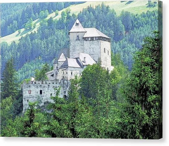Burg Reifenstein Sterzing Italy Canvas Print by Joseph Hendrix