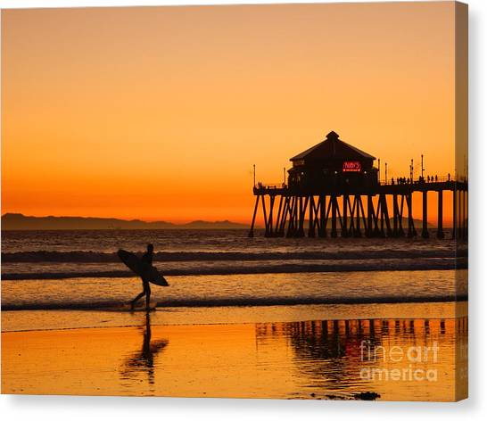 Call It A Night Canvas Print