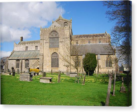Canvas Print - Cartmel Priory by Peter Jenkins