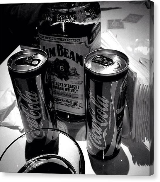 Whiskey Canvas Print - Celebration by Jane Bulatnikova