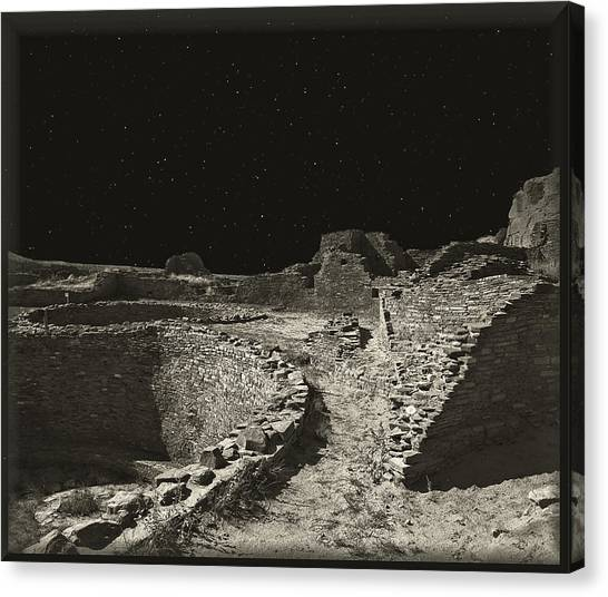 Chaco Canyon Canvas Print