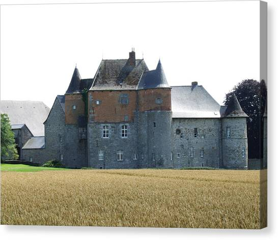 Chateau Fort De Feluy Belgium Canvas Print