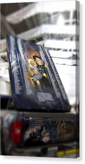 First Responders Canvas Print - Chevy First Responder 9-11 by Douglas Barnard