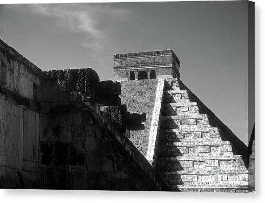 Chichen Itza Ruins Yucatan Mexico Canvas Print