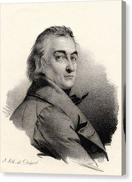 Claude Louis Berthollet, French Chemist Canvas Print by