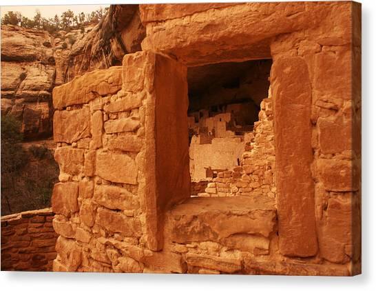 Cliff Palace Mesa Verde National Park Canvas Print