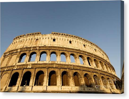 The Amphitheatre Canvas Print - Coliseum. Rome by Bernard Jaubert