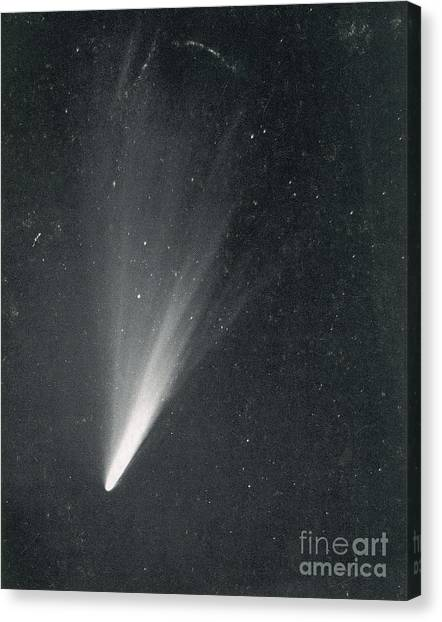 Luminous Body Canvas Print - Comet West, 1976 by Science Source