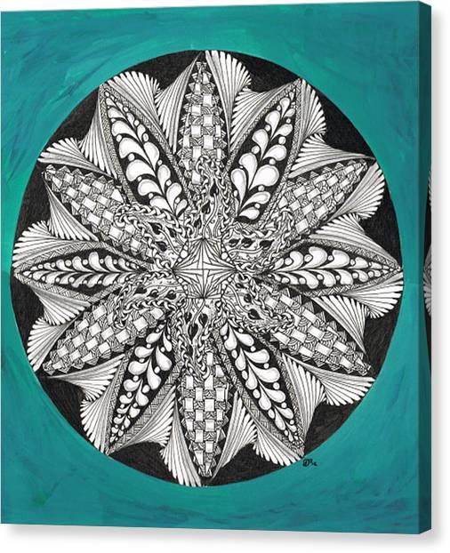 Completed Zen Canvas Print