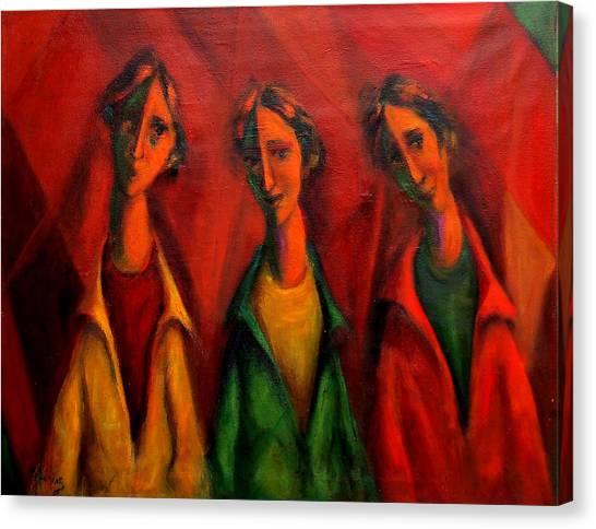 Coquettish Canvas Print