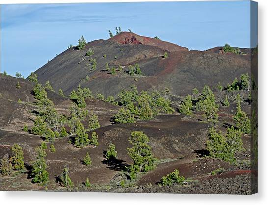 Craters Of The Moon Canvas Print by Elijah Weber