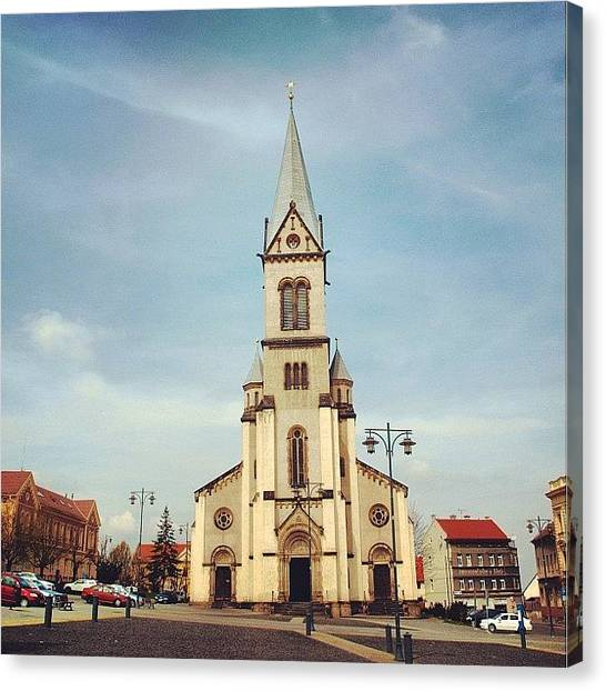Saints Canvas Print - Czech by Grigorii Arzhanykh
