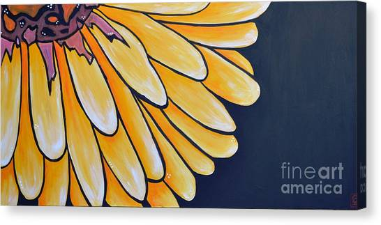 Dahlia Canvas Print by Holly Donohoe