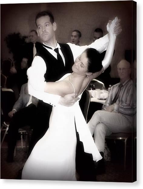 Dance With Me Canvas Print by Lori Seaman