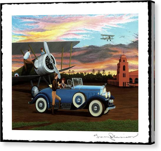 Dawn Flight Canvas Print