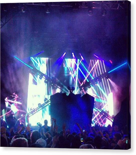 Mice Canvas Print - Deadmau5 Live by Gary West
