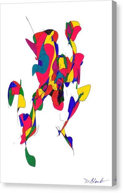Definism Design 10 Canvas Print