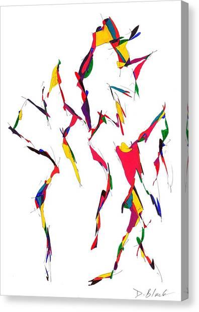 Definism Design 12 Canvas Print