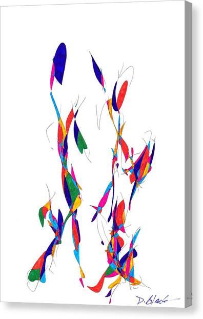 Definism Design 3 Canvas Print