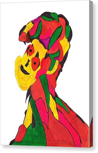 Definism Design 4 Canvas Print
