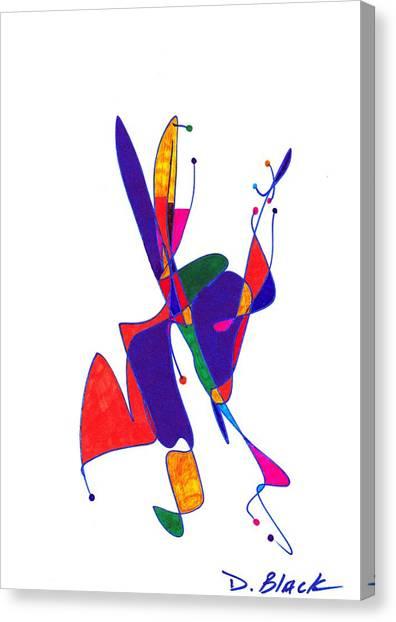 Definism Design 6 Canvas Print