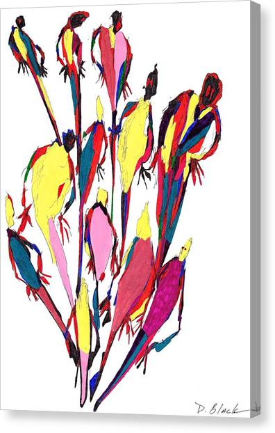 Definism Design 8 Canvas Print