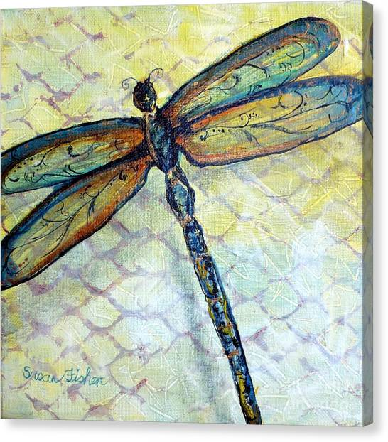 Dragonfly Dancer Canvas Print