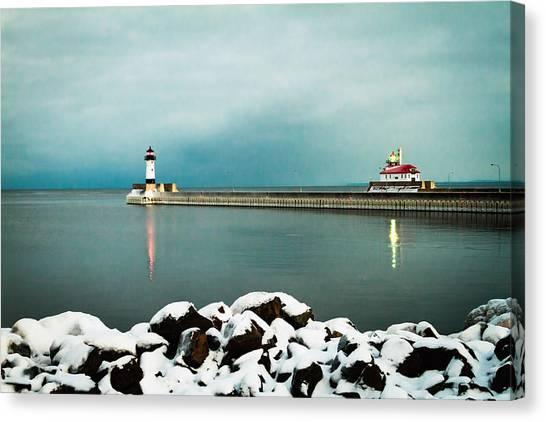 Duluth Harbor Canvas Print