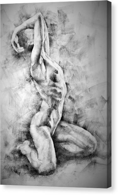 Erotic Sketchbook Page 3 Canvas Print