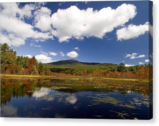 Fall Day At Perkins Pond Canvas Print