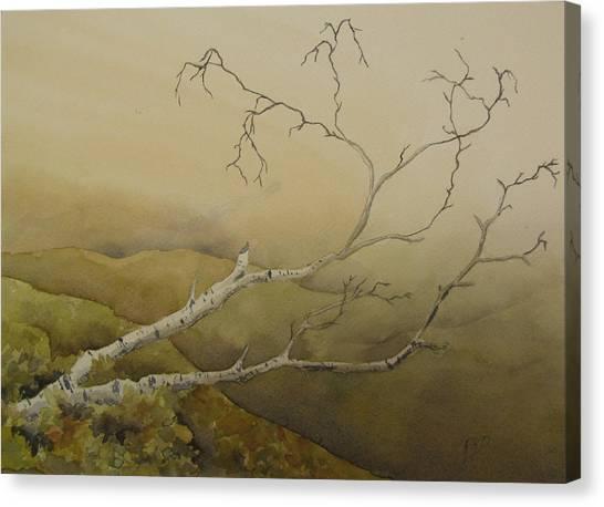 Fallen Canvas Print by Ramona Kraemer-Dobson