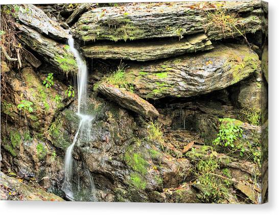 Falling Waters Canvas Print by JC Findley