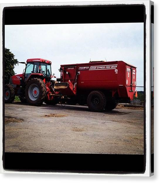 Equipment Canvas Print - #farmequipment #farm #farmlife by Danielle Mcneil