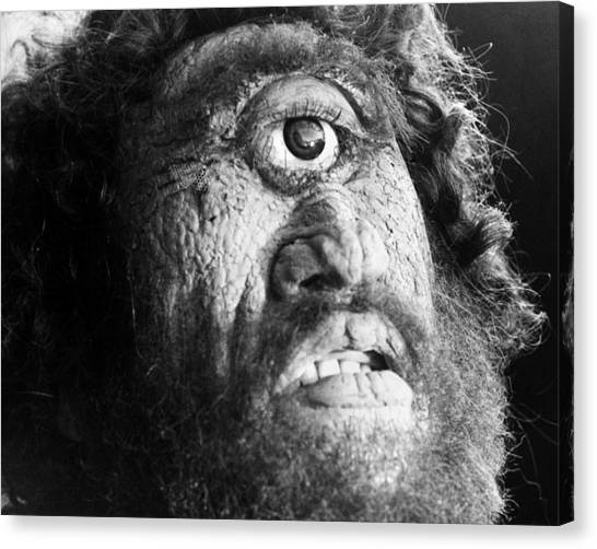 Cyclops Canvas Print - Film: Ulysses, 1954 by Granger
