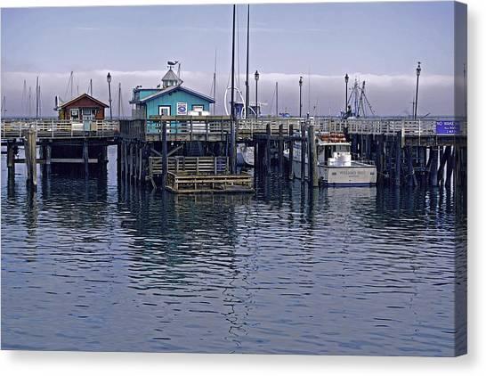 Fishermans Warf Monterey Canvas Print