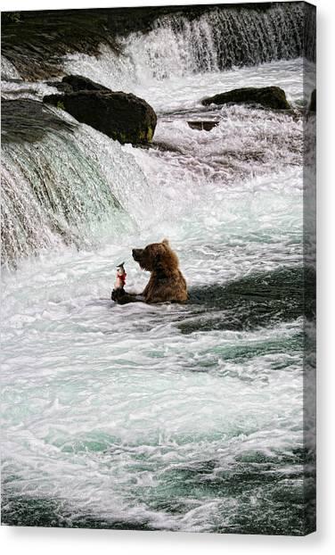 Fishing-5 Canvas Print