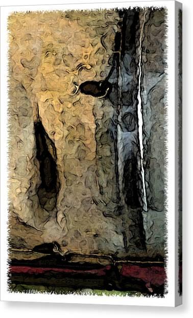 Fossilties Canvas Print by Brenda Leedy