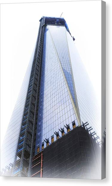 Freedom Tower Canvas Print by Vicki Jauron