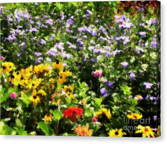 Gail's Garden Canvas Print