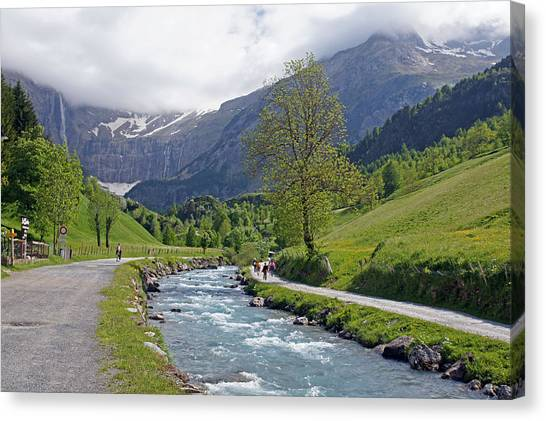 Gave De Gavarnie Canvas Print