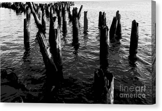 Ghosts On The Hudson Canvas Print