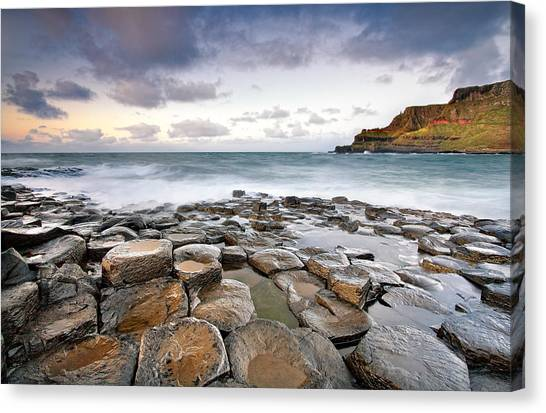 Atlantic 10 Canvas Print - Giant's Causeway by Pawel Klarecki